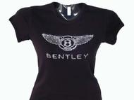 Bentley Swarovski crystal rhinestone bling t shirt