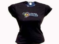 Cheers Swarovski Crystal Rhinestone T Shirt Top
