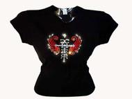 Cher Swarovski Crystal Rhinestone Concert T Shirt
