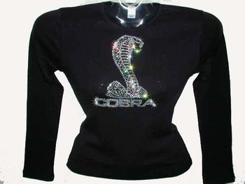 Mustang Cobra Rhinestone T Shirt