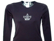 Princess Queen Crown Swarovski Crystal Rhinestone T Shirt