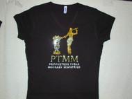 Custom Ministries Logo Swarovski Crystal Rhinestone Bling T Shirt