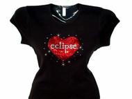 Eclipse Swarovski crystal rhinestone shirt