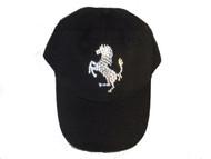 Ferrari Horse Swarovski crystal hat/ baseball cap