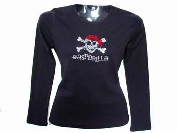 Gasparilla Fest Pirate Bling Rhinestone T Shirt