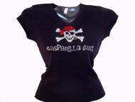 Gasparilla Girl Rhinestone Bling Shirt