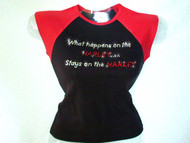 What Happens On The Harley Motorcycle Swarovski Crystal Rhinestone T Shirt Top