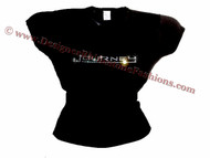 Journey Swarovski Crystal Rhinestone Concert T Shirt Top