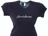 Juvederm Swarovski Crystal Rhinestone Spa Bling T Shirt