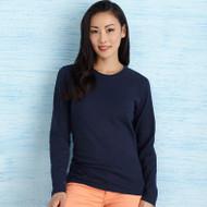 Ladies Full Cut Long Sleeve T Shirt S-3XL