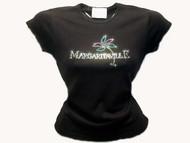 Jimmy Buffet Margaritaville Swarovski Crystal Rhinestone Shirt