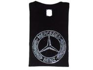 Mercedes Swarovski crystal rhinestone bling t shirt