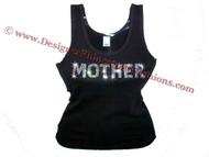 Madonna Mother F*cker Swarovski Crystal Shirt