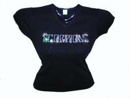 Scorpions Swarovski Crystal Rhinestone Studded Concert T Shirt