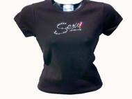 Sexy Swarovski Crystal Rhinestone T Shirt