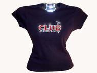 Sopranos Club Bada Bing Swarovski Rhinestone T Shirt Top