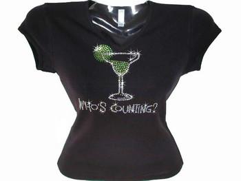 Margarita rhinestone bling t shirt