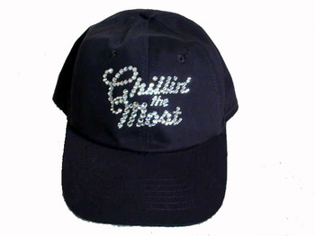 Kid Rock Chillin' The Most Swarovski Rhinestone Hat/Baseball Cap