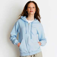 Zippered Fleece Hoodie S-5XL