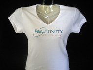 Relativity 10th Anniversary Swarovski crystal rhinestone t shirt