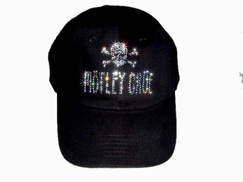 Motley Crue Swarovski Rhinestone Cap Hat