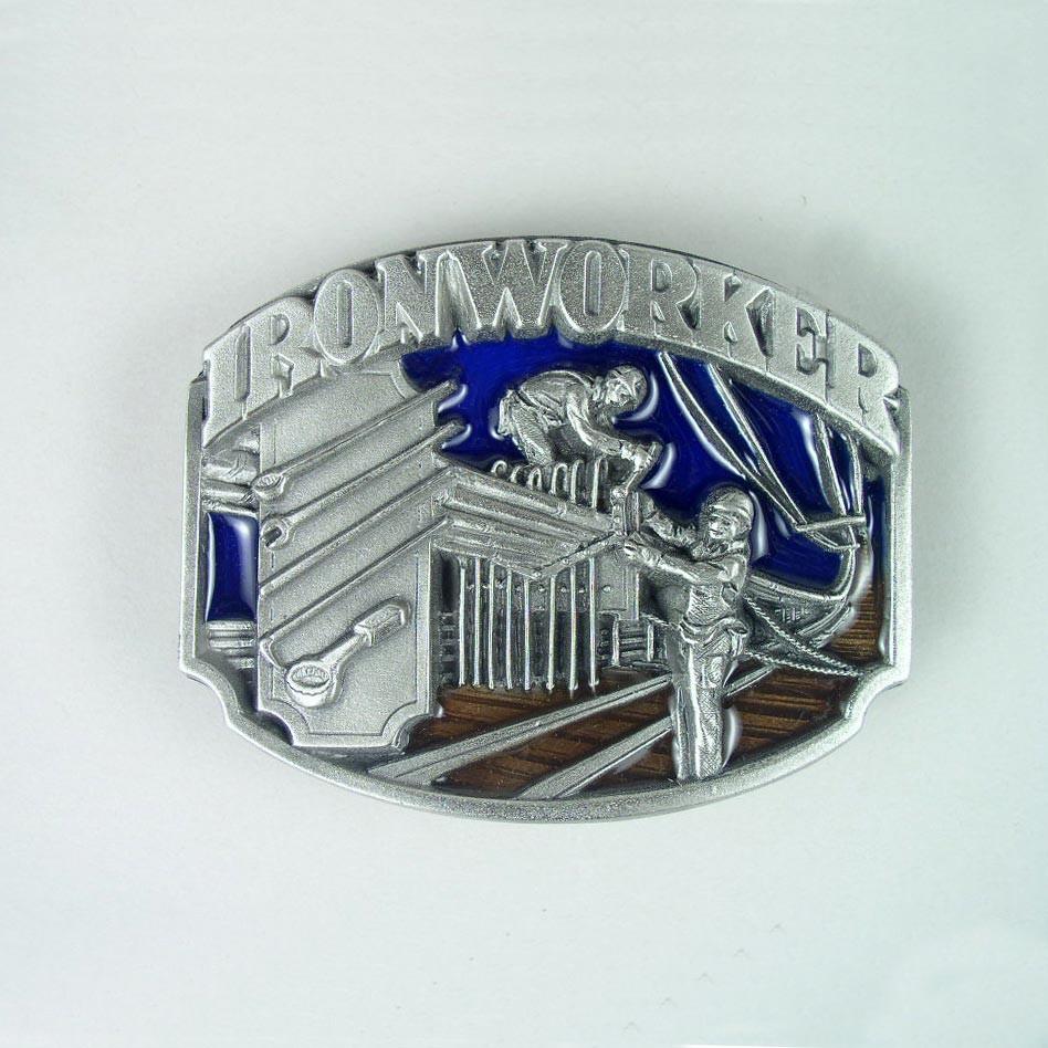iron worker belt buckle leathersmith designs inc