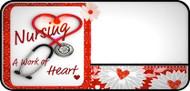 Nurses Heart Red