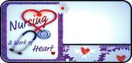 Nurses Heart Purple