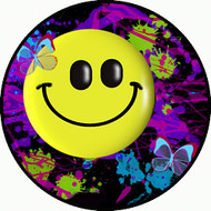 Smiley Splatter BR