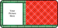 Holiday Plaid Frame