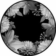 Black & White Floral BR