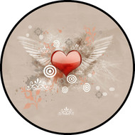Flying Heart Beige BR