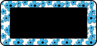 Doodle Flowers Blue
