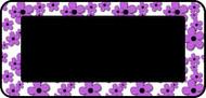 Doodle Flowers Purple