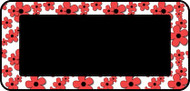 Doodle Flowers Red