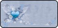 Flying Heart Blue