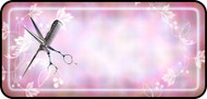 Scissor & Comb Pink