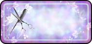 Scissor & Comb Purple