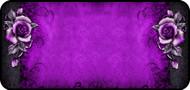 Goth Roses Purple