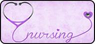 Nursing Love Purple