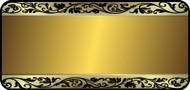 Metal Swirl Gold