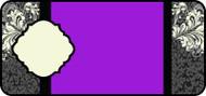 Filigree Title Purple