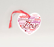 Words of Love Ornament