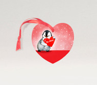 Penguin Love Ornament