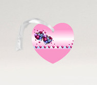 Foil Hearts Ornament