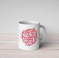 Best Mom Red Mug