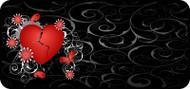 Broken Heart Red
