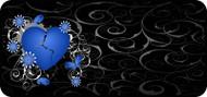Broken Heart Blue