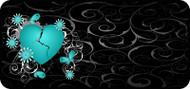 Broken Heart Aqua