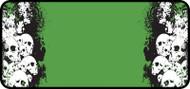 Stacked Skulls Green